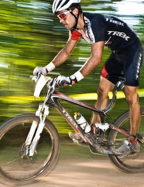 National 24-hour solo champion Chris Eatough won on a 2009 Trek Top Fuel 9.9 SL August 3 in Wisconsin.