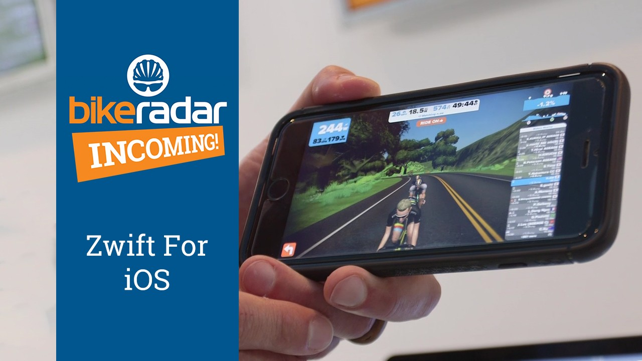 Zwift's 2017 updates include an iOS version and group rides