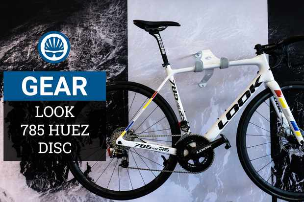 The new Look 785 Huez RS, as spotted at Eurobike 2018