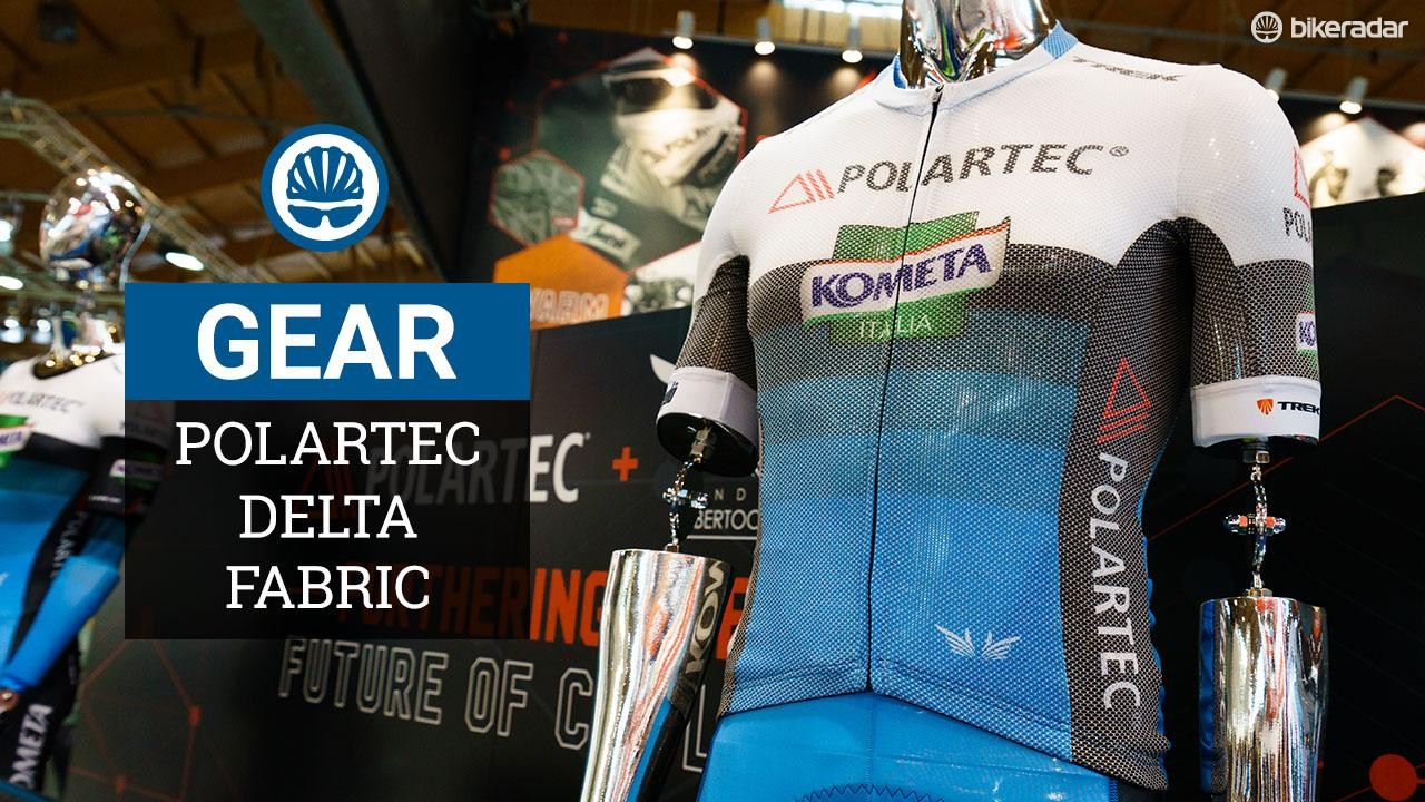 Polartec Delta keeps you cool and dry