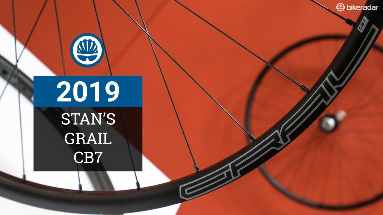 The Stan's Grail CB7 gravel wheelset weighs less than 1,300g