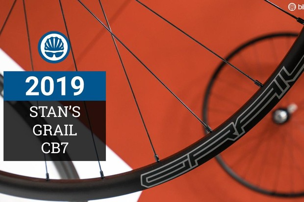The Stan's Grail CB7 gravel wheelset weighs less than 1,300g