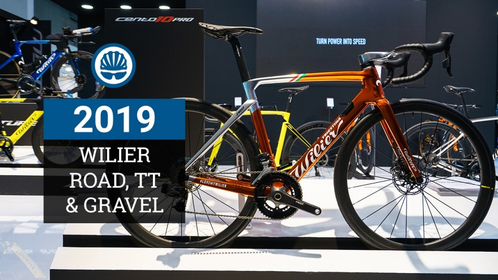 Wilier Triestina 2019: Cento10 Pro Disc, Turbine TT and Carbon Gravel bike