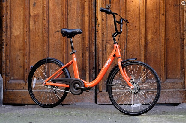 At £40, the GetB is by far the UK's cheapest bike