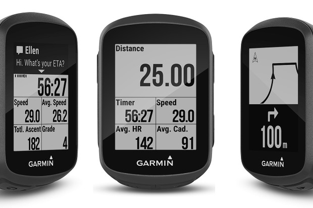 The new Garmin Edge 130 offers Bluetooth integration for messaging, uploading and tracking, plus a slew of metrics and even basic navigation