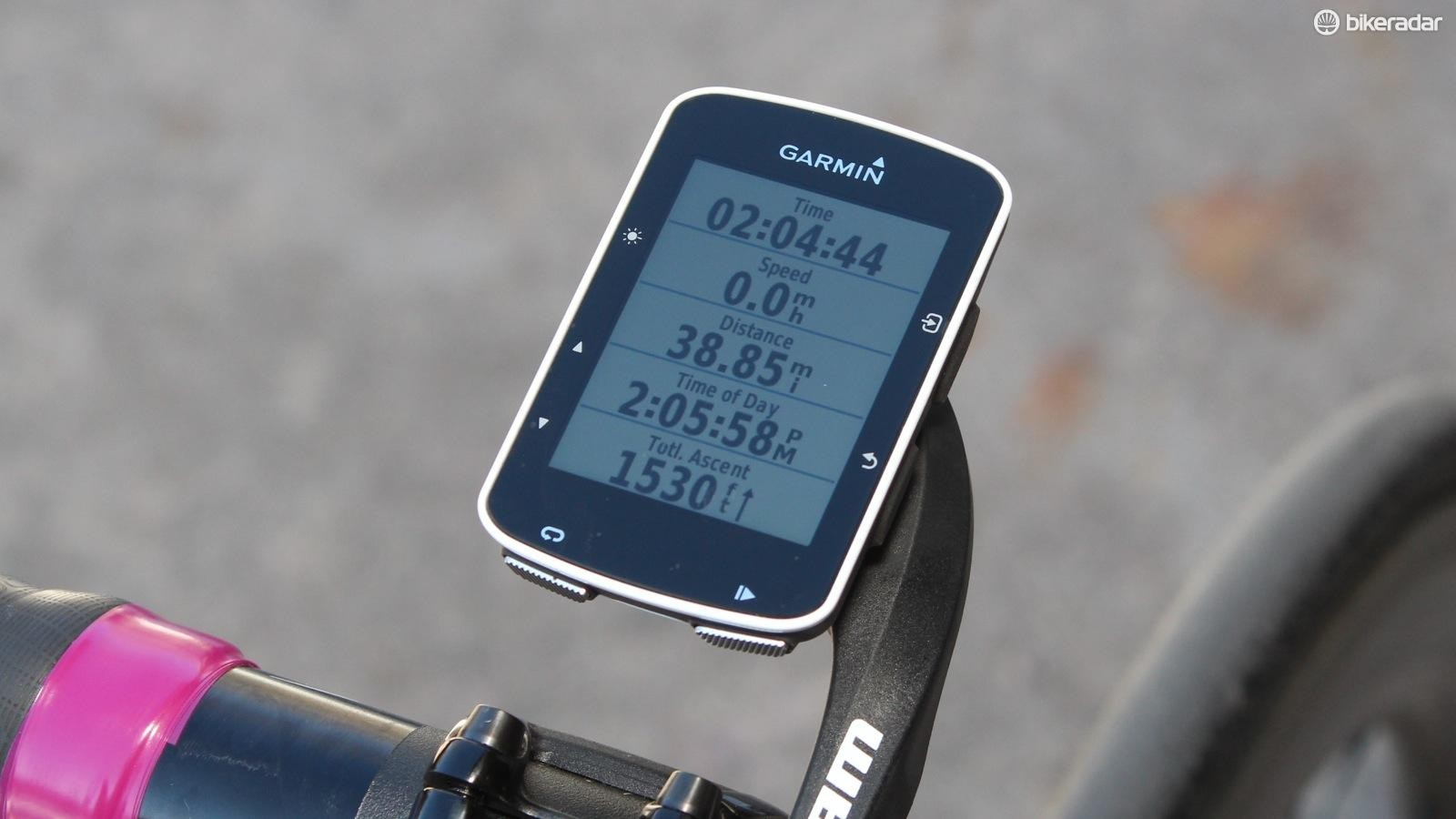 The 520 is a feature-rich GPS
