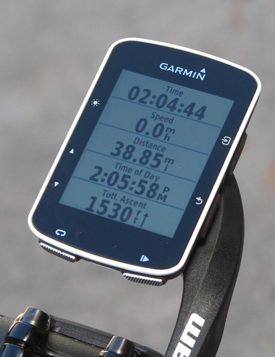 The Garmin Edge 520 is aimed at performance-focused riders