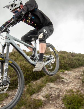 Both the Bronson and Roubion are built to tackle trails at the technical end of the spectrum