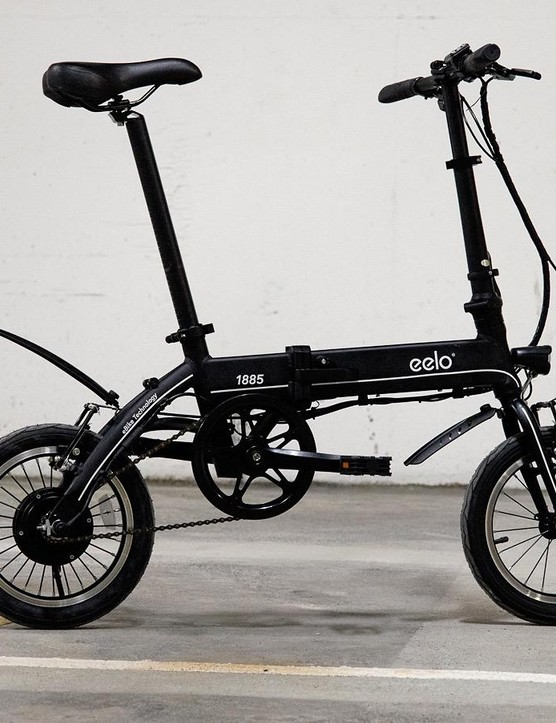 I'm looking forward to properly trying out Eelo's 1885 folding electric bike