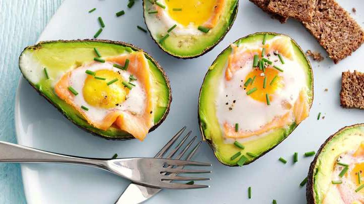 They look decadent, but these baked avocado and eggs are simple to make and a great start to the day