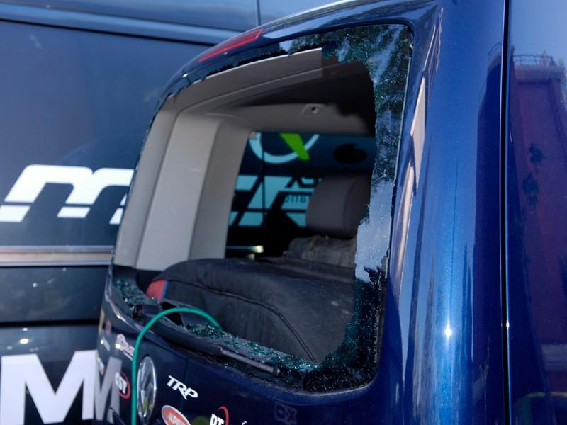 Thieves broke into Multivan Merida Team's van