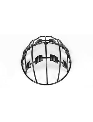 An internal cage provides additional reinforcement