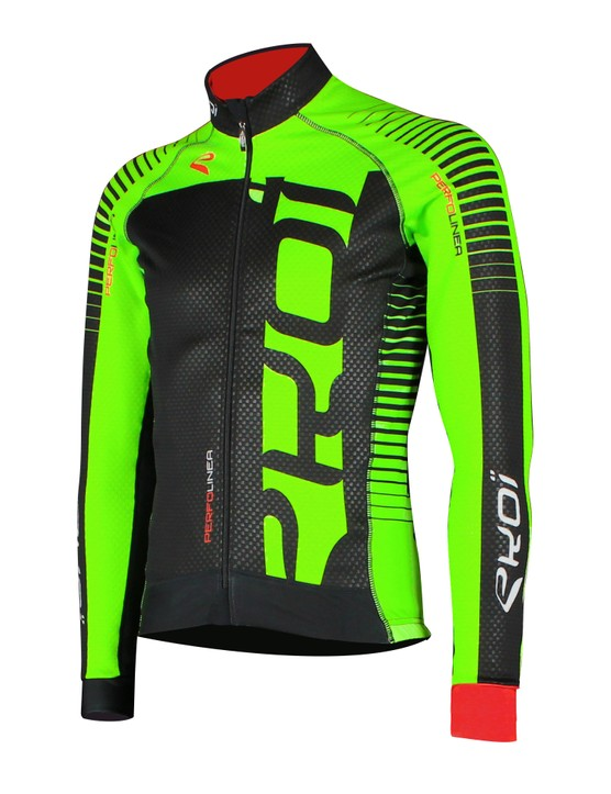 The Ekoi Perfolinea Flash jacket is made from Thermo Windtex, a thermal fabric that's breathable and waterproof