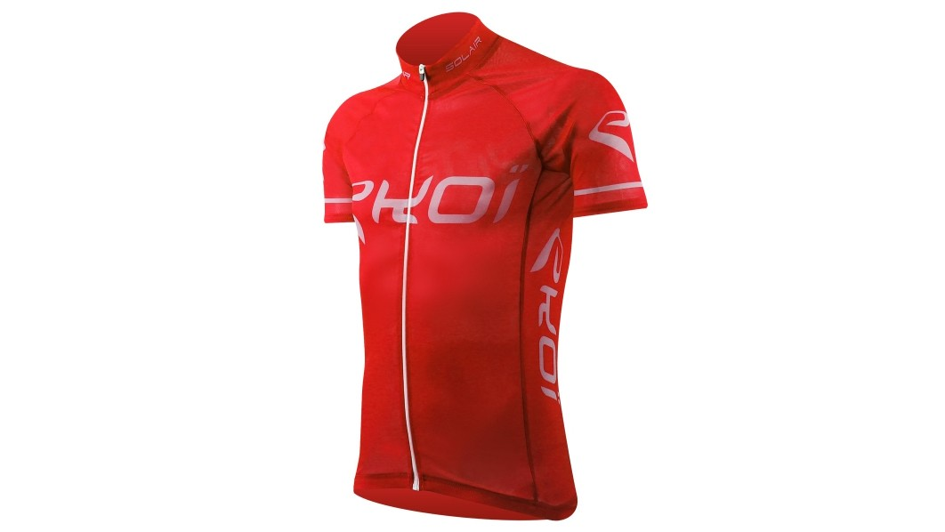 The otherwise normal looking Ekoi Solair jersey has a trick up its (short) sleeves