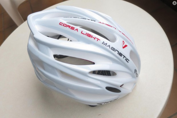 Ekoi's Corsa Light helmet weighs just 210g and is priced at a very competitive £100.97