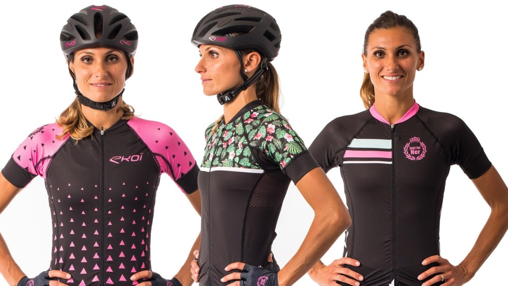 There are three designs of the summer jersey available