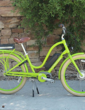It's electric! The Electra Townie Go! 8i