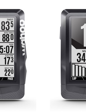 The new Wahoo Elemnt now has fields for muscle oxygenation and electronic drivetrains