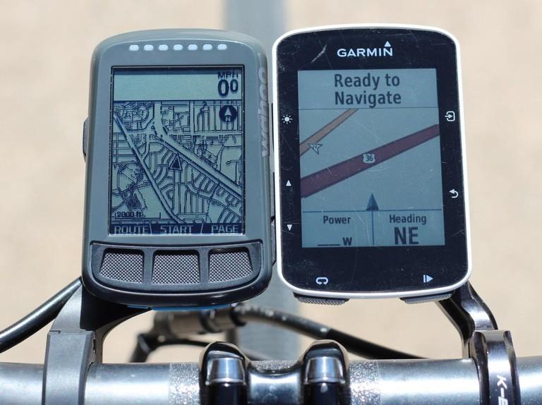 Garmin Edge 520 vs Wahoo Elemnt Bolt - BikeRadar