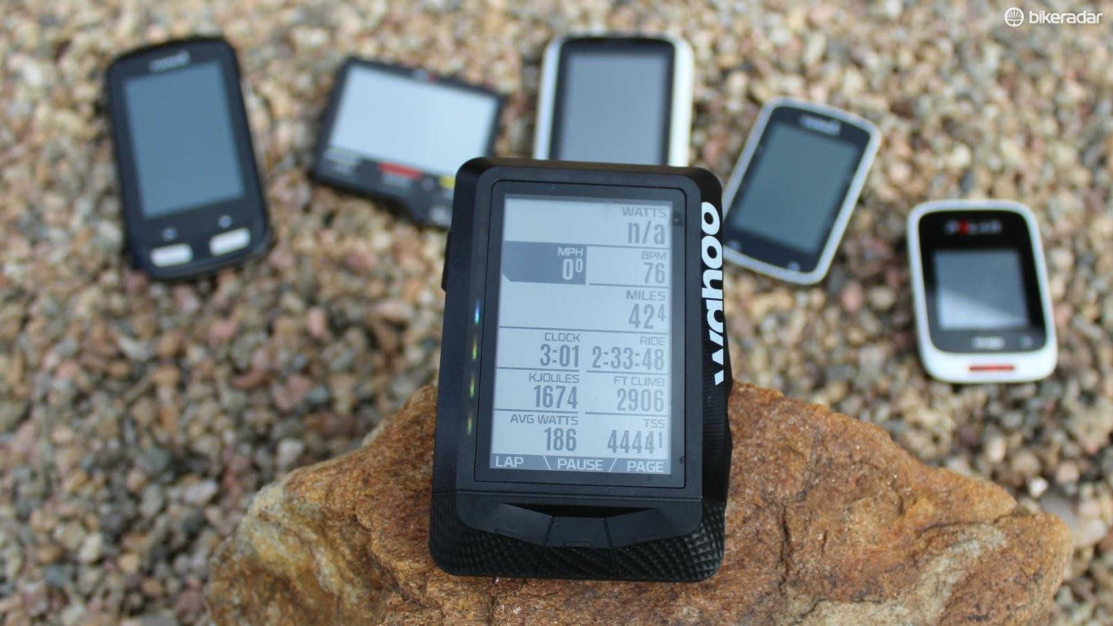 The Wahoo Elemnt is the big newcomer to GPS computers