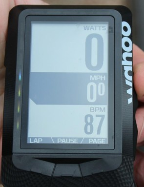 The zoom in/zoom out function, with buttons on the right, allows you to see more or less data on the fly