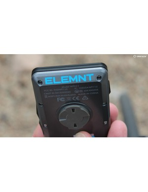 Elemnt has its own mount style, and comes with three mounts