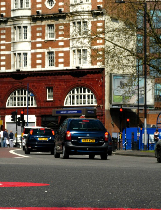 Elephant and Castle roundabout is by far the most dangerous place to cycle in London, according to the Aviva survey