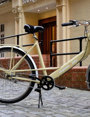The ex-Royal Mail bike is sturdy and reliable