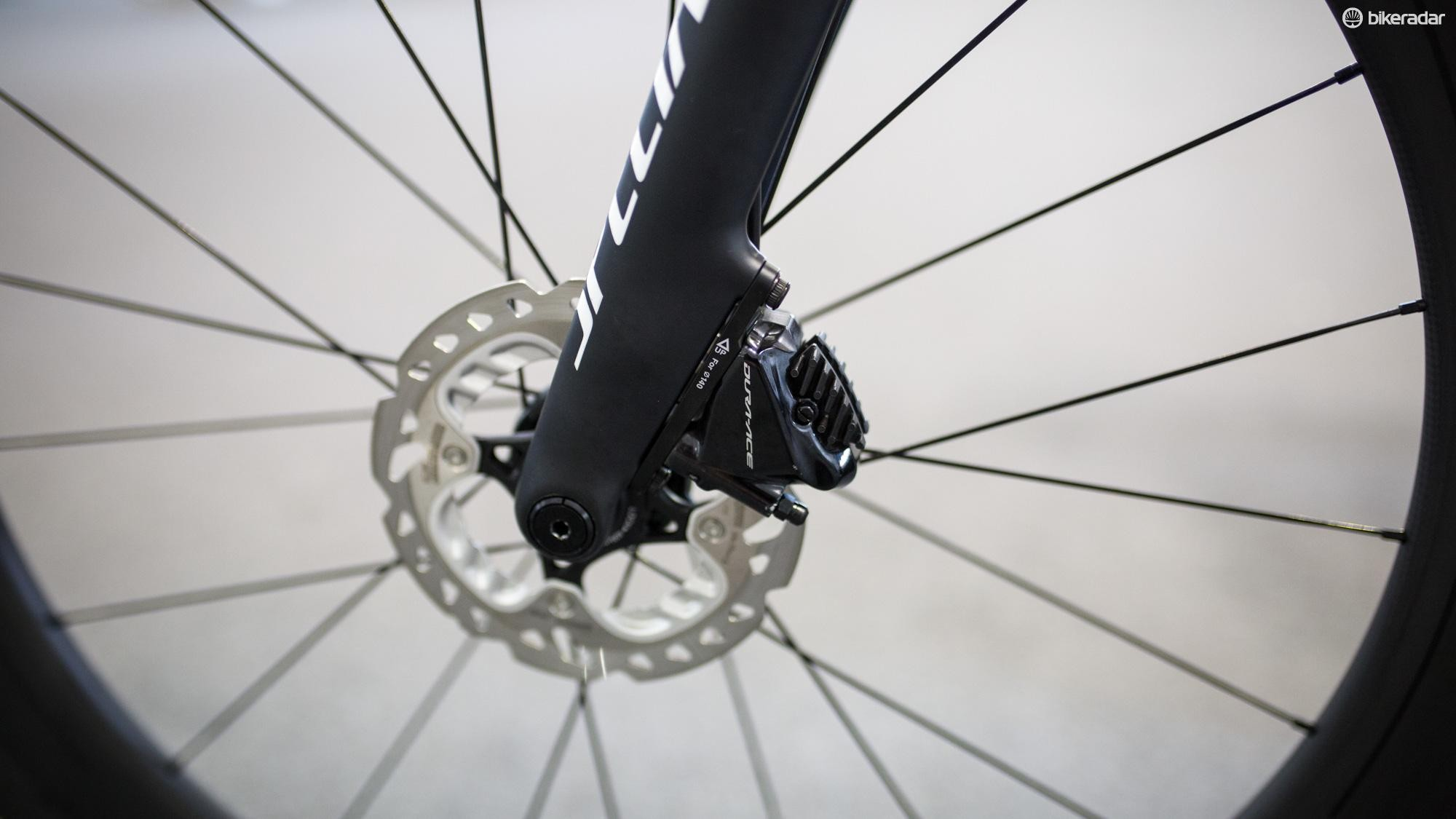 Whether you like them or not, riders are winning races on disc brakes