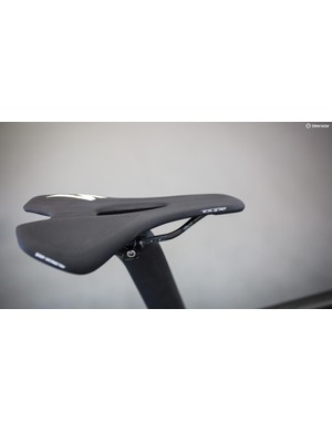 Viviani's saddle of choice is the S-Works Toupe