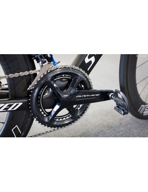 The Italian's Venge ViAS does not have a power meter