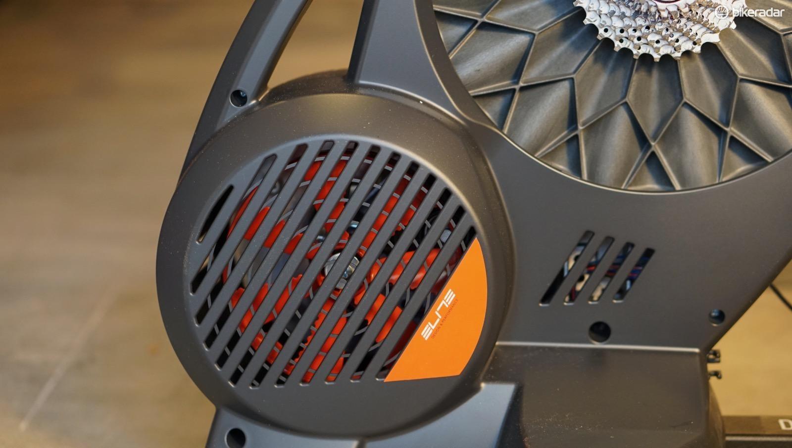 The Direto has a 4.2kg flywheel plus an electronic brake