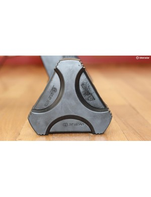 The adjustable feet are quick and easy to work with, although there is no compensation for an uneven floor