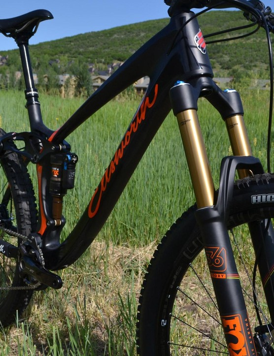 Three sizes of the 27.5in enduro bike will be offered