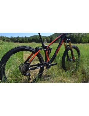 Updates to the rear suspension add stiffness while retaining Ellsworth's trademark efficiency