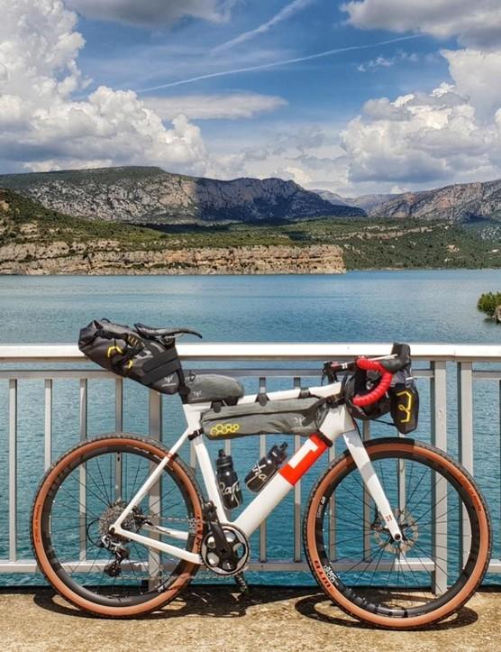 A bike, a few bags, a Garmin and a plan
