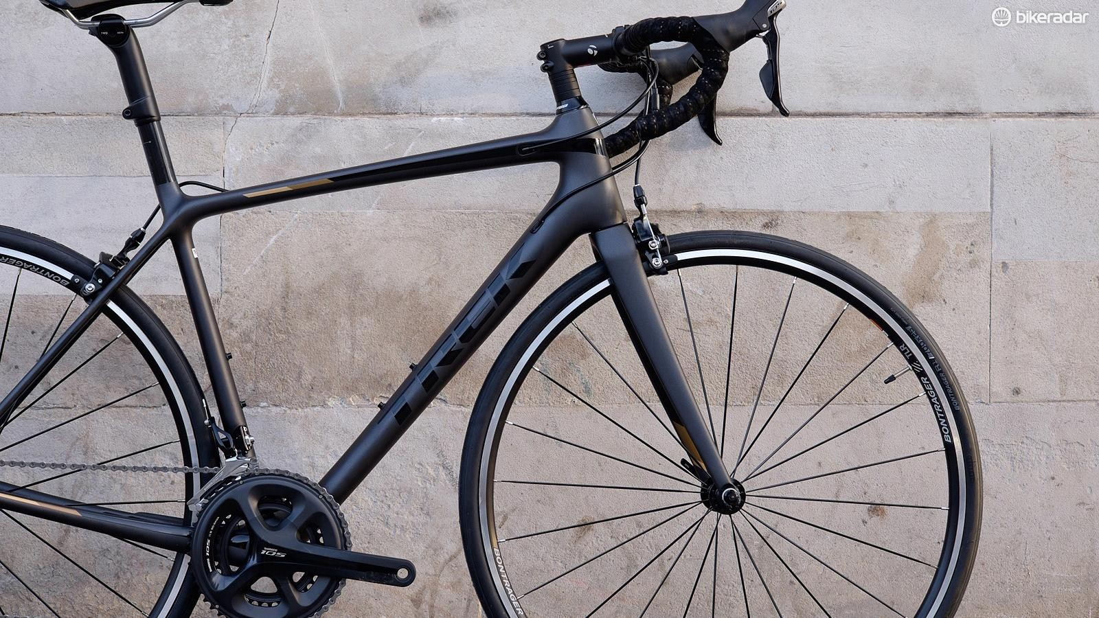 A carbon frame provides a good basis for future upgrades if you want to drop weight or improve performance