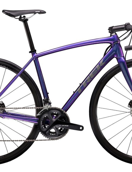 This 'Purple Flip' paintjob looks fantastic and is available on both rim and disc versions. This is the ALR 5 Disc WSD with 105