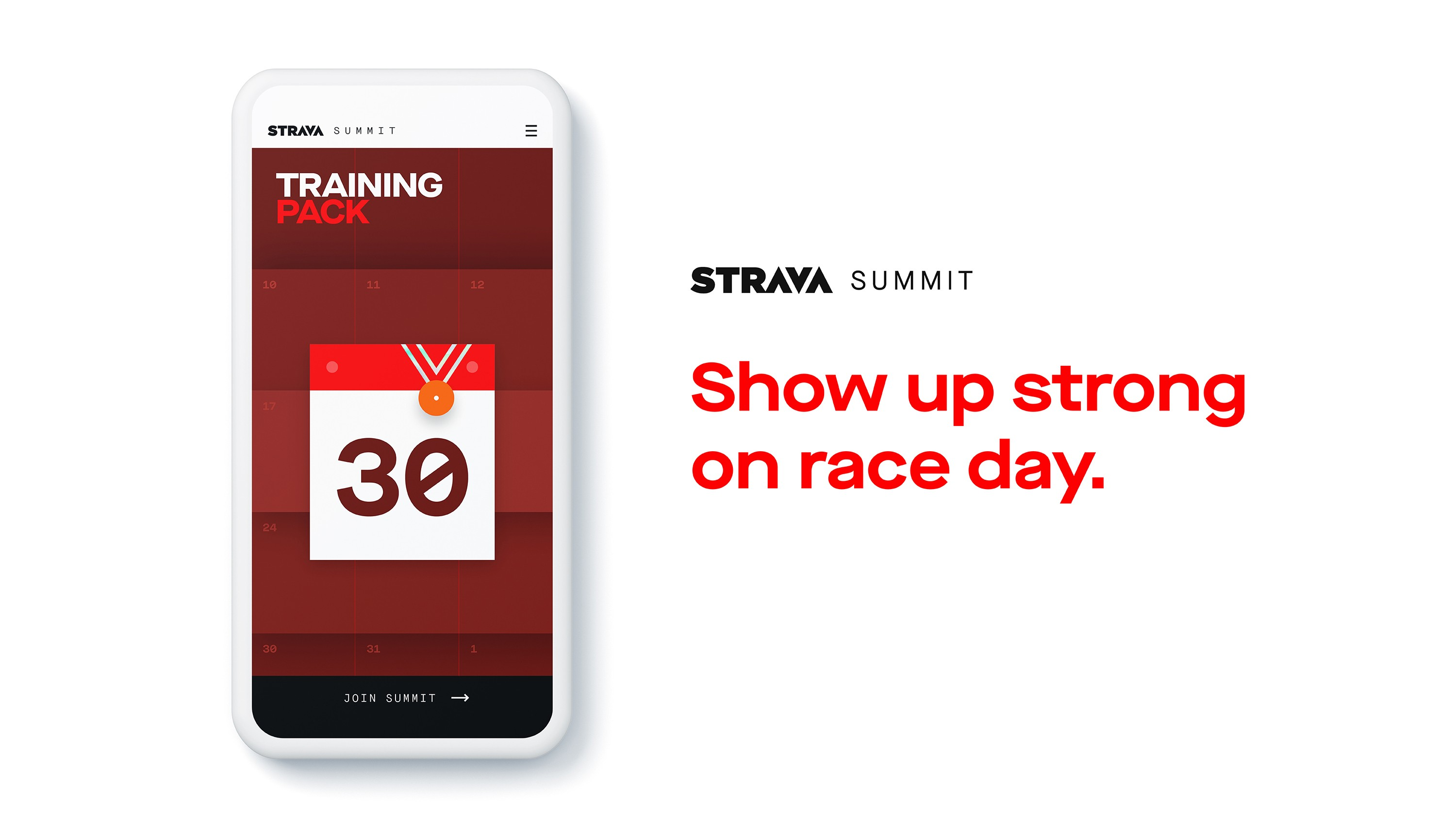 The Strava Training Pack is for... training