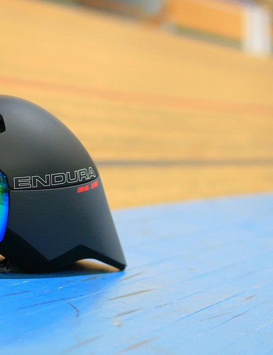 The new fully aero helmet comes with a removable magnetic visor