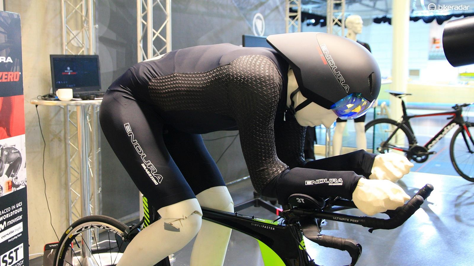 Four million data points were used in the scan of Alex Dowsett to create a life-like mannequin, for those times when he wasn't available