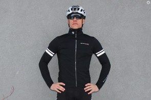 Endura's FS260-Pro SL Thermal Windproof Jacket fits like a thermal long-sleeve jersey, but with more protection
