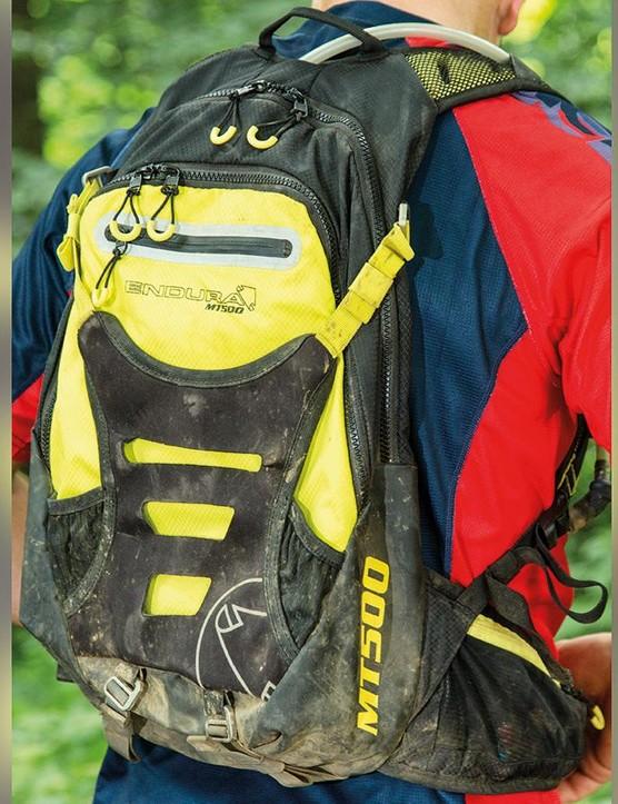The Endura MT500 Enduro backpack