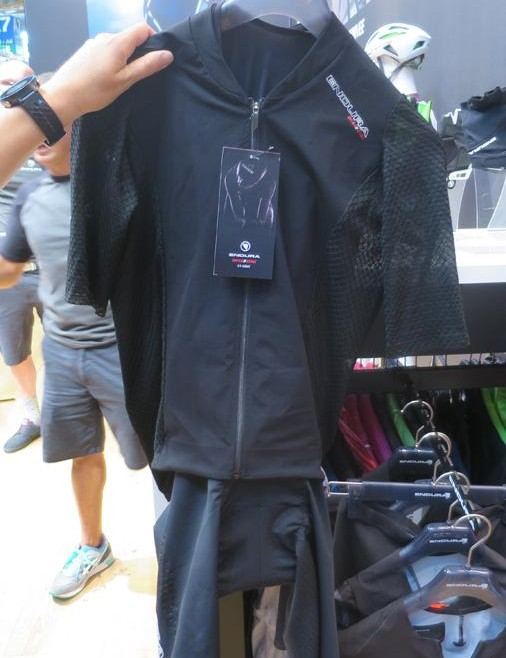 The road suit is a lighter aero suit for long days in the saddle. Its aero advantage comes at slower speeds, too