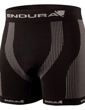 A circular knit fabric short with minimal seams from Endura