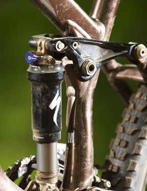 Specialized went out on a limb by making its own shocks. Sadly, it was a fairly rotten limb
