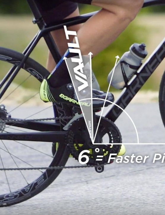 The Vault's freehub engagement is 50% faster than the M1 hub it replaces