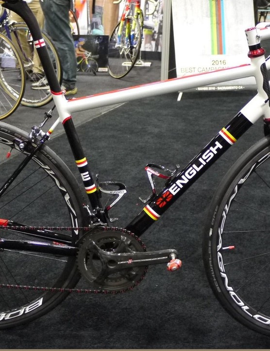 English's entry for the Campagnolo booth was a sight to behold