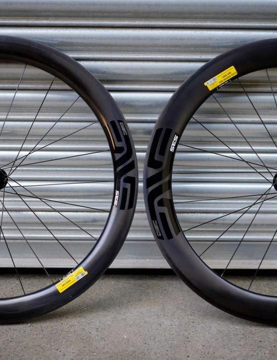 Enve's 5.6 Disc wheels look pretty darn special