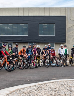 Lehman encourages staff to go ride their bikes, and lunchtime rides are a fixture of the weekly calender
